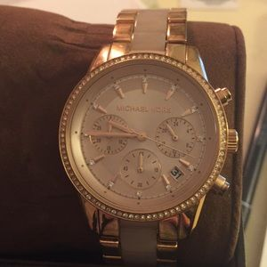 Michael Kors rose gold watch MK6307